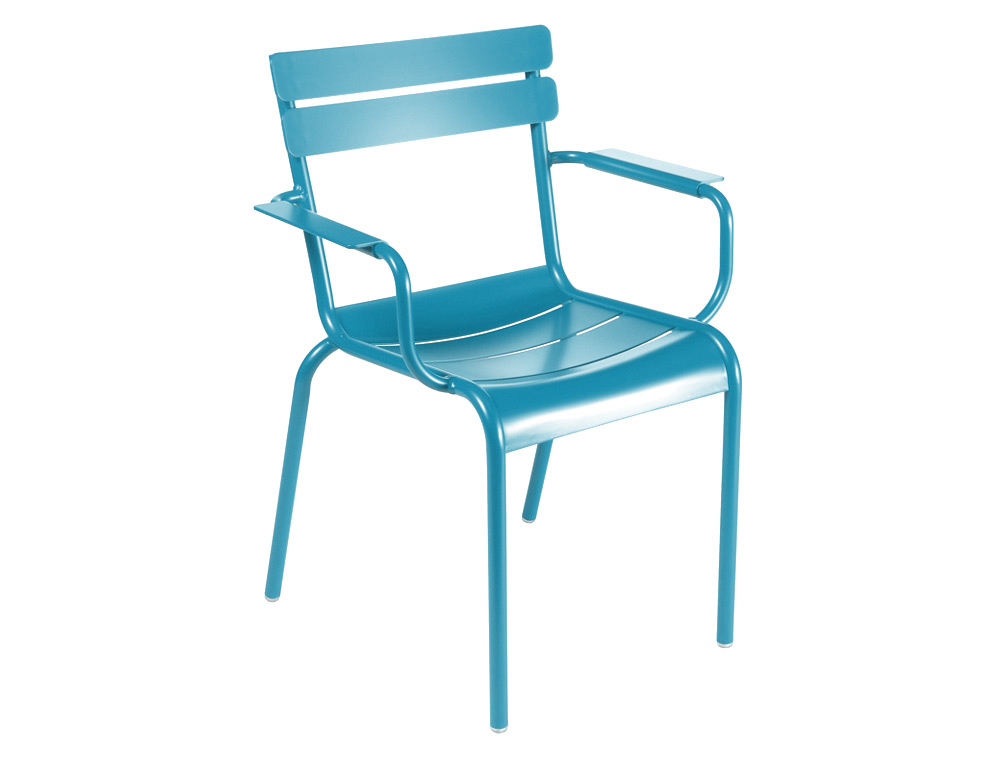 Luxembourg armchair – Turqouise Blue