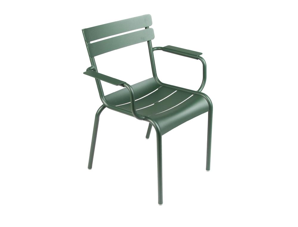 Luxembourg armchair – Cedar Green