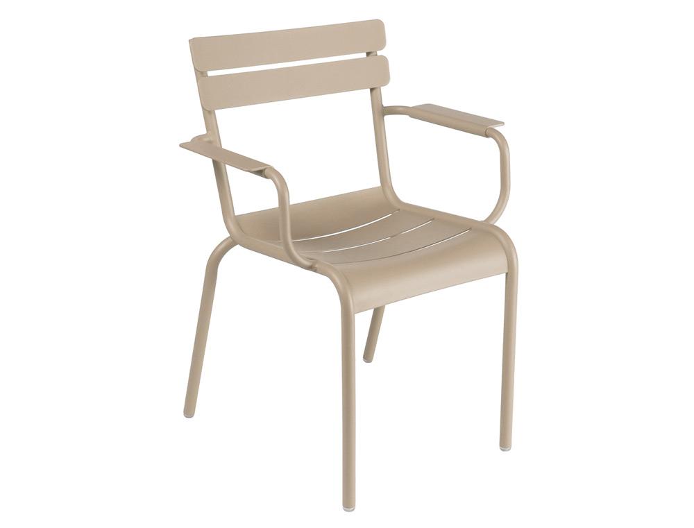 Luxembourg armchair – Nutmeg