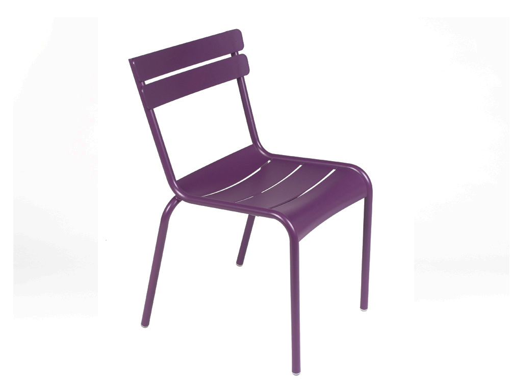 Luxembourg chair – Aubergine