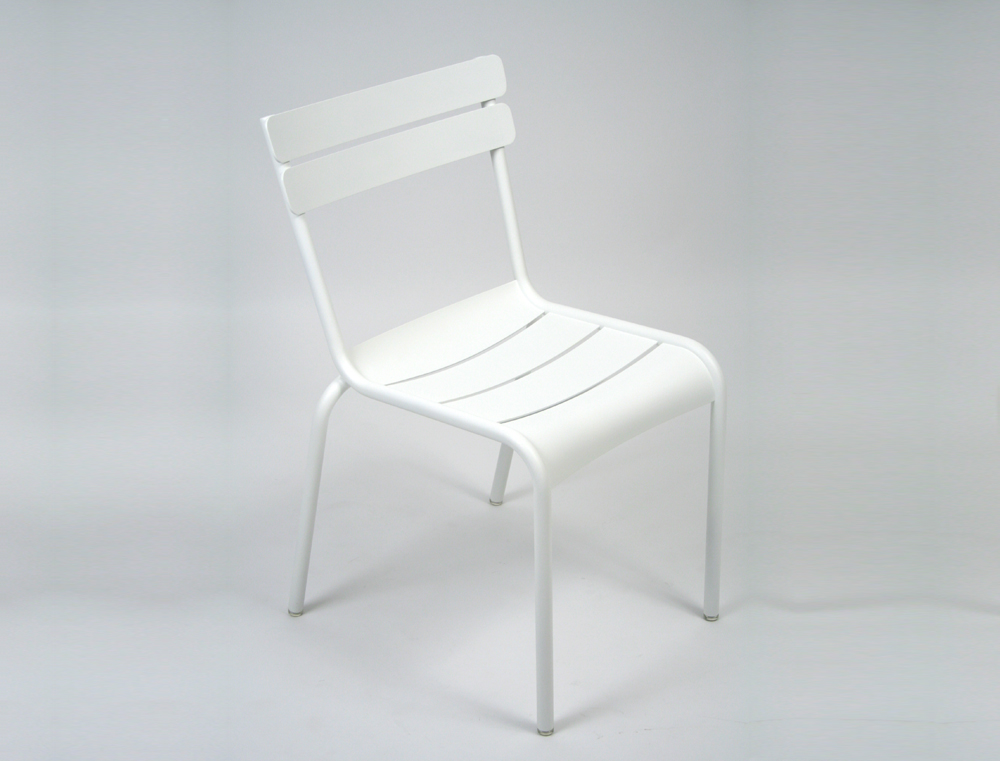 Luxembourg chair – Cotton White
