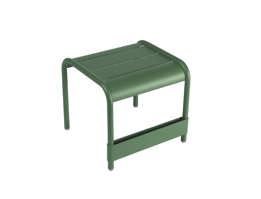 Luxembourg small low table/footrest – Cedar Green