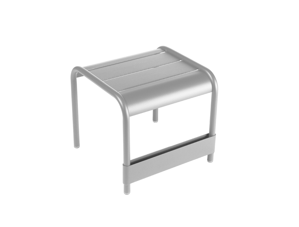 Luxembourg small low table/footrest – Steel Grey