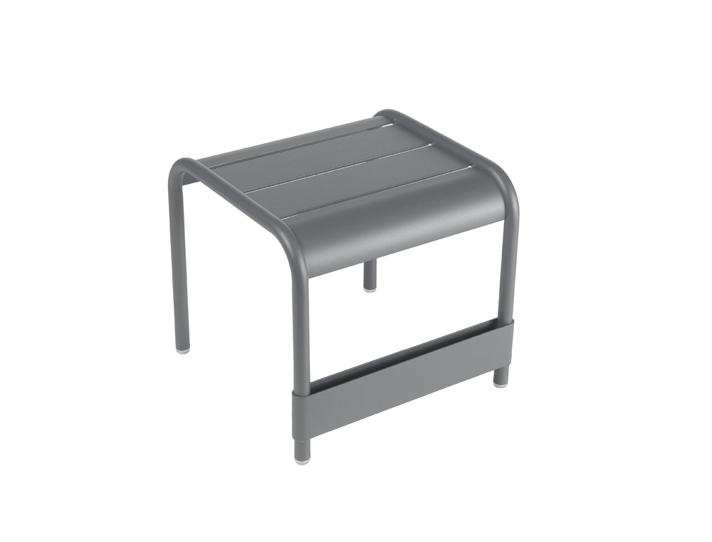Luxembourg small low table/footrest – Storm Grey