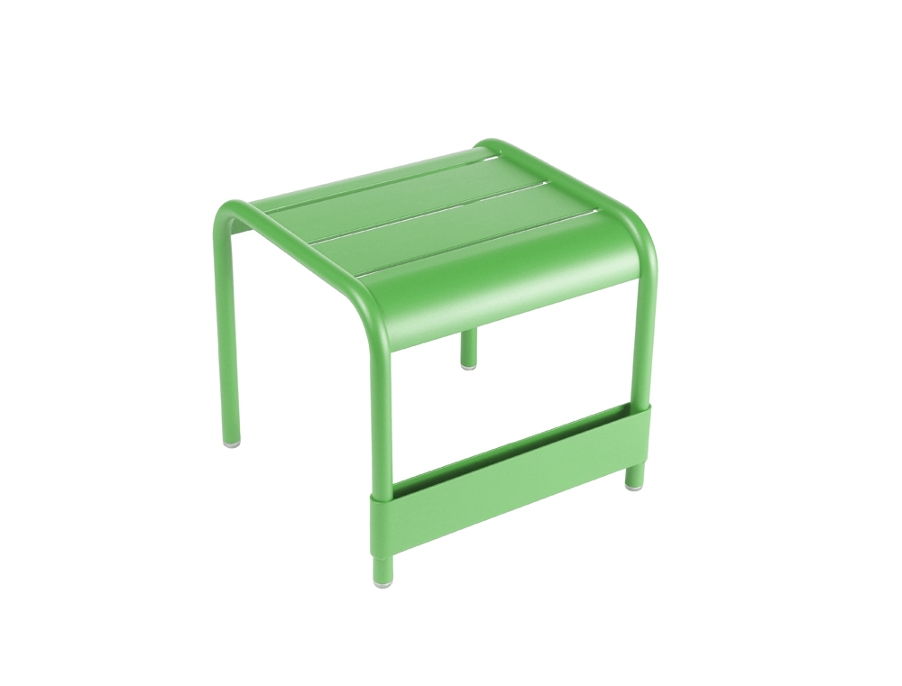 Luxembourg small low table/footrest – Grass Green