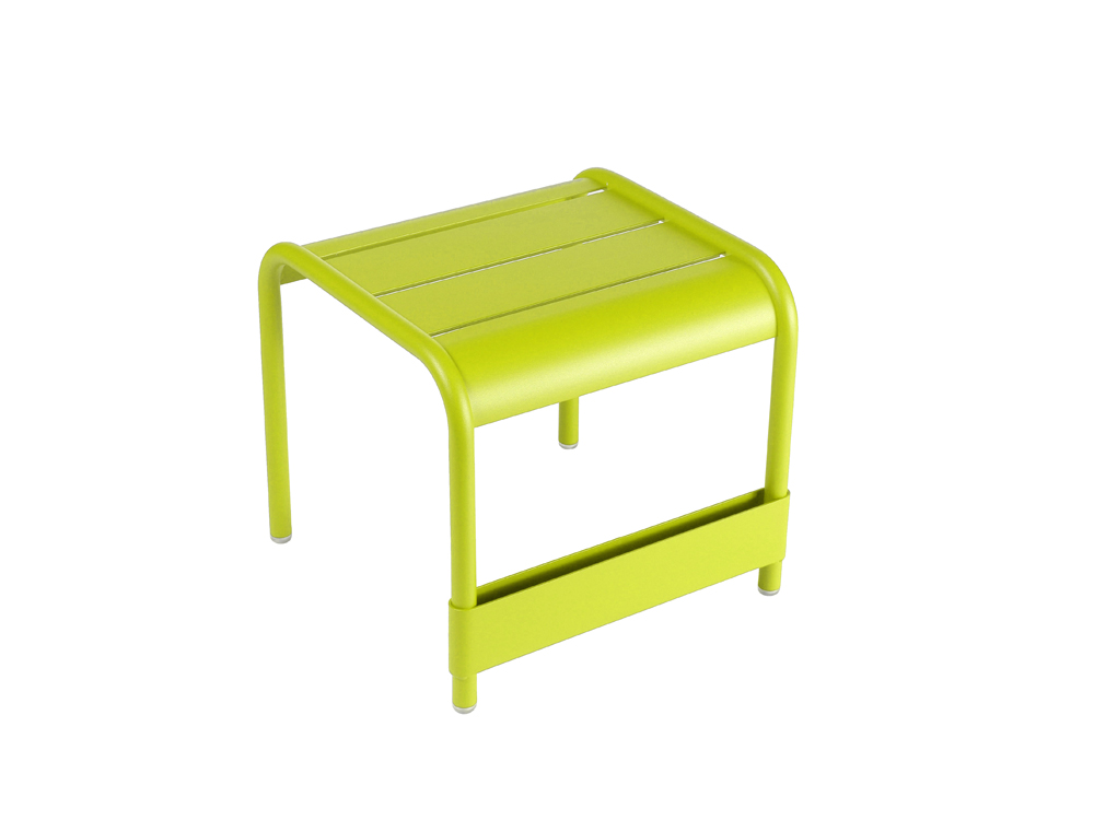 Luxembourg small low table/footrest – Verbena