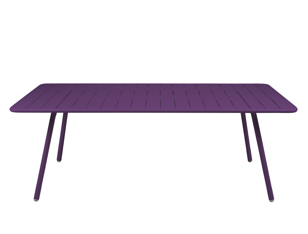 Luxembourg table 100 x 207 cm – Aubergine