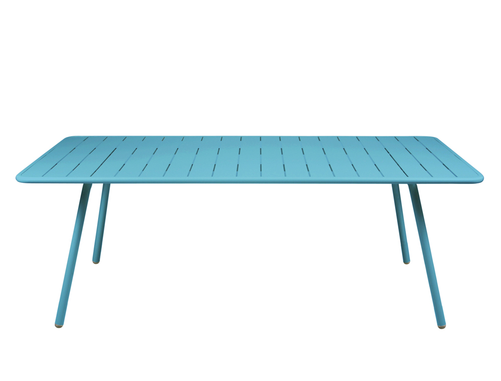 Luxembourg table 100 x 207 cm – Turquoise Blue