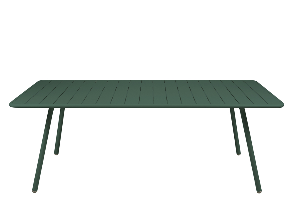 Luxembourg table 100 x 207 cm – Cedar Green