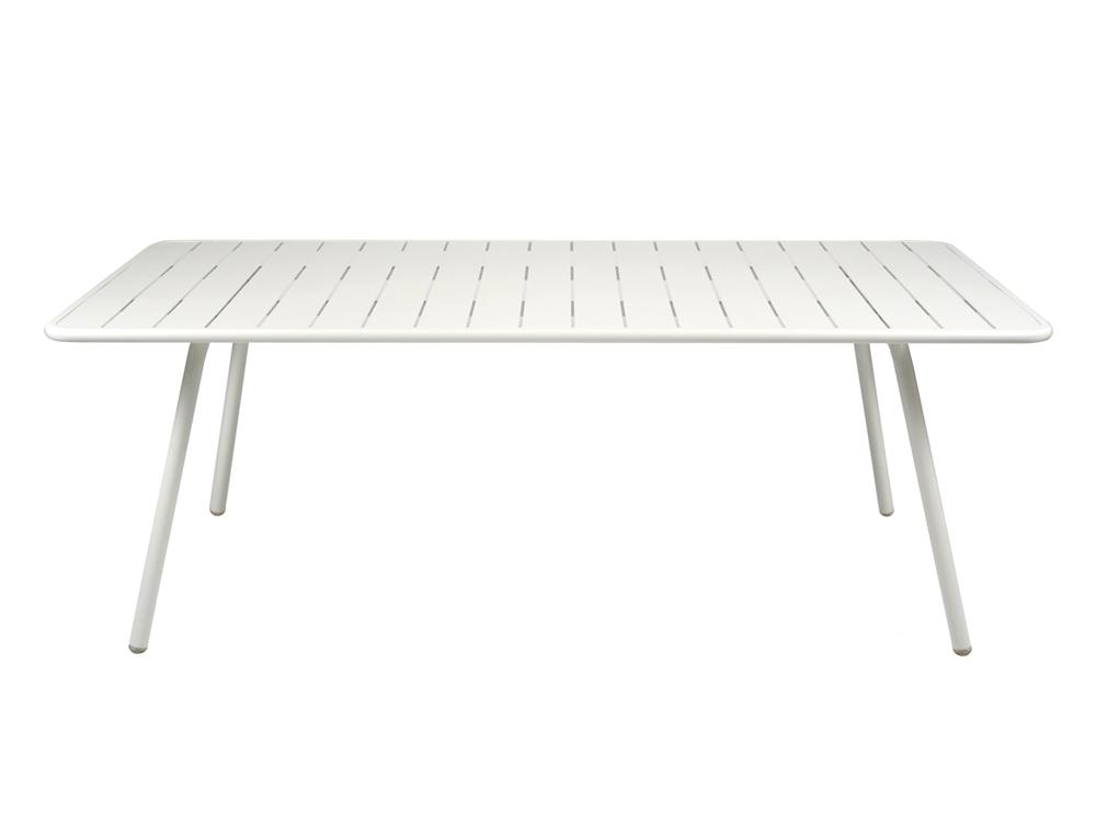 Luxembourg table 100 x 207 cm – Cotton White