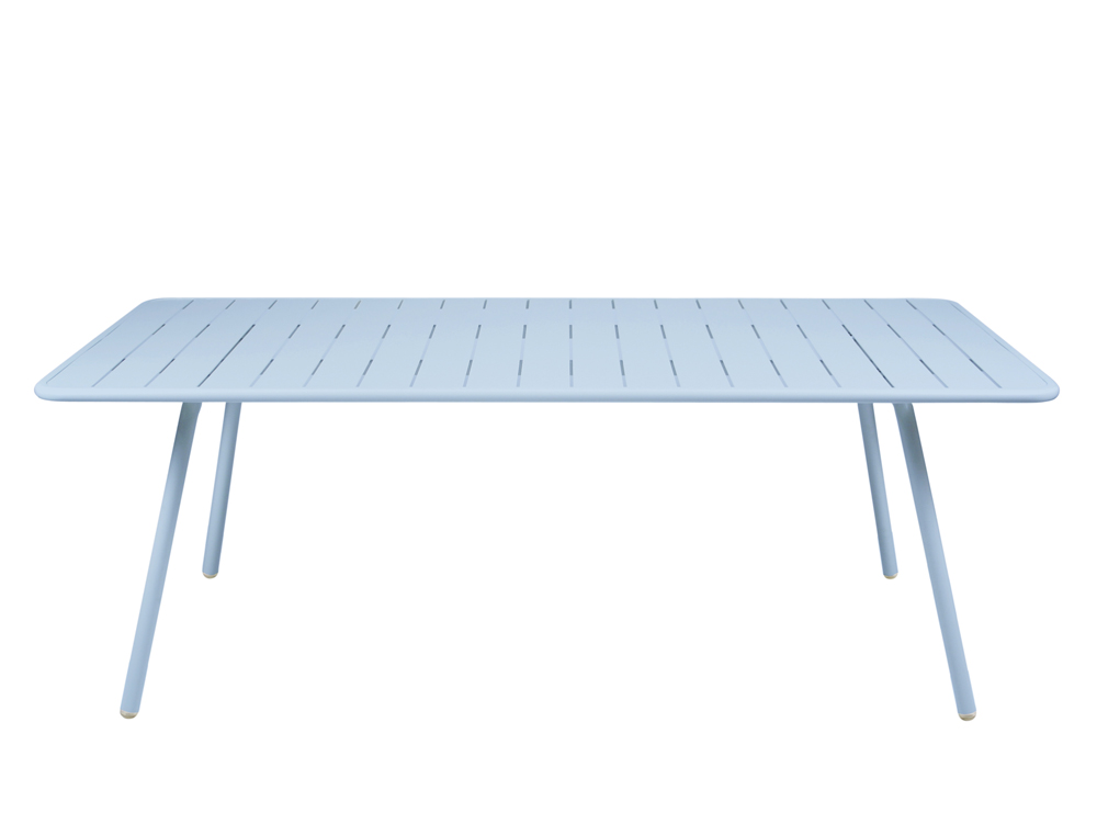 Luxembourg table 100 x 207 cm – Fjord Blue