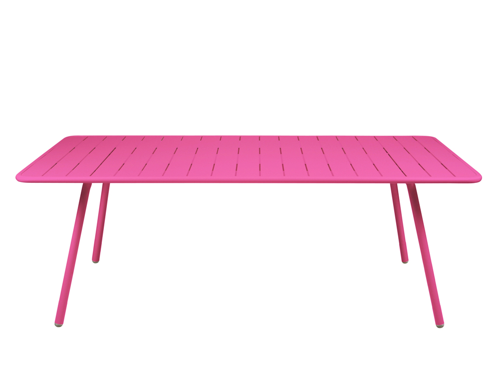 Luxembourg table 100 x 207 cm – Fuchsia