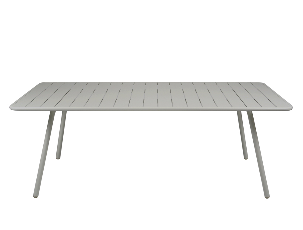 Luxembourg table 100 x 207 cm – Steel Grey