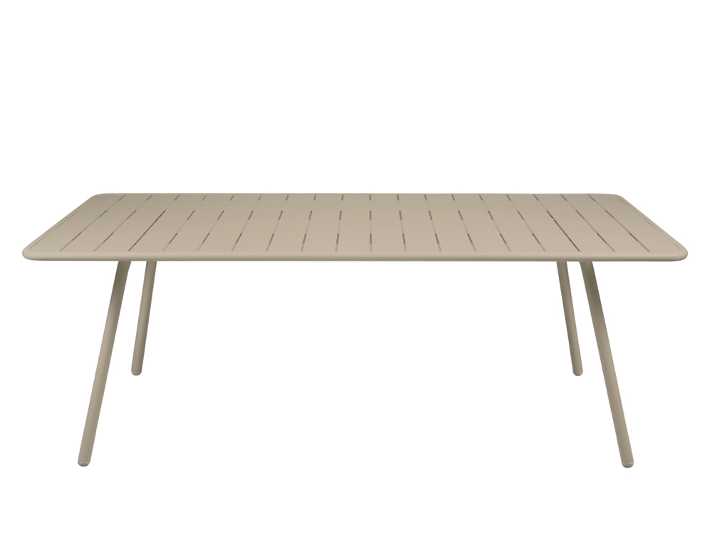 Luxembourg table 100 x 207 cm – Nutmeg