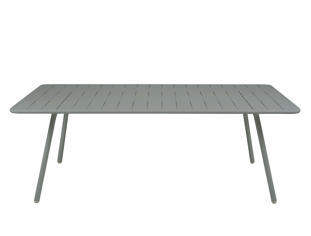 Luxembourg table 100 x 207 cm – Storm Grey