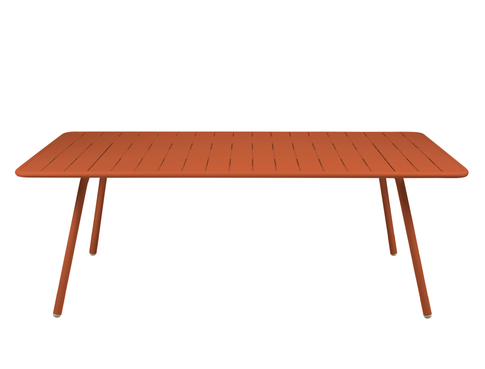 Luxembourg table 100 x 207 cm – Paprika