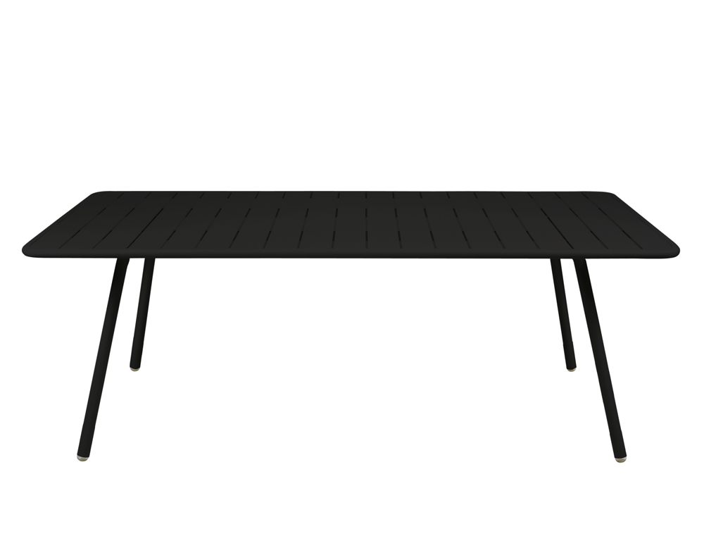 Luxembourg table 100 x 207 cm – Liquorice
