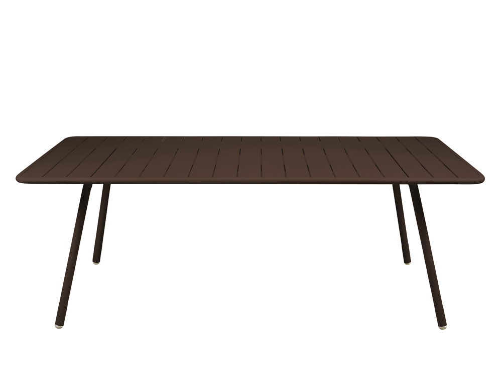 Luxembourg table 100 x 207 cm – Russet