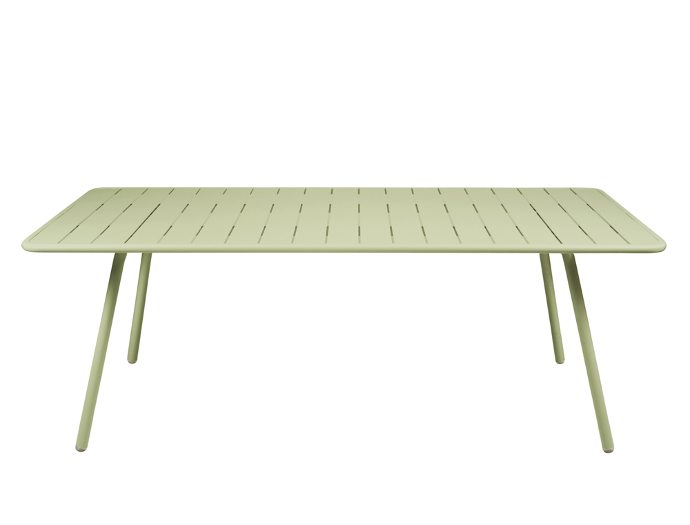 Luxembourg table 100 x 207 cm – Willow Green