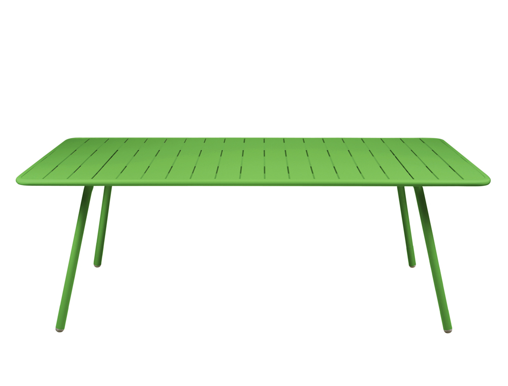Luxembourg table 100 x 207 cm – Grass Green