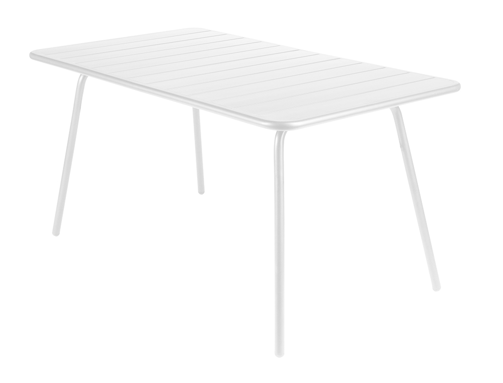 Luxembourg table 80 x 143 cm – Cotton White