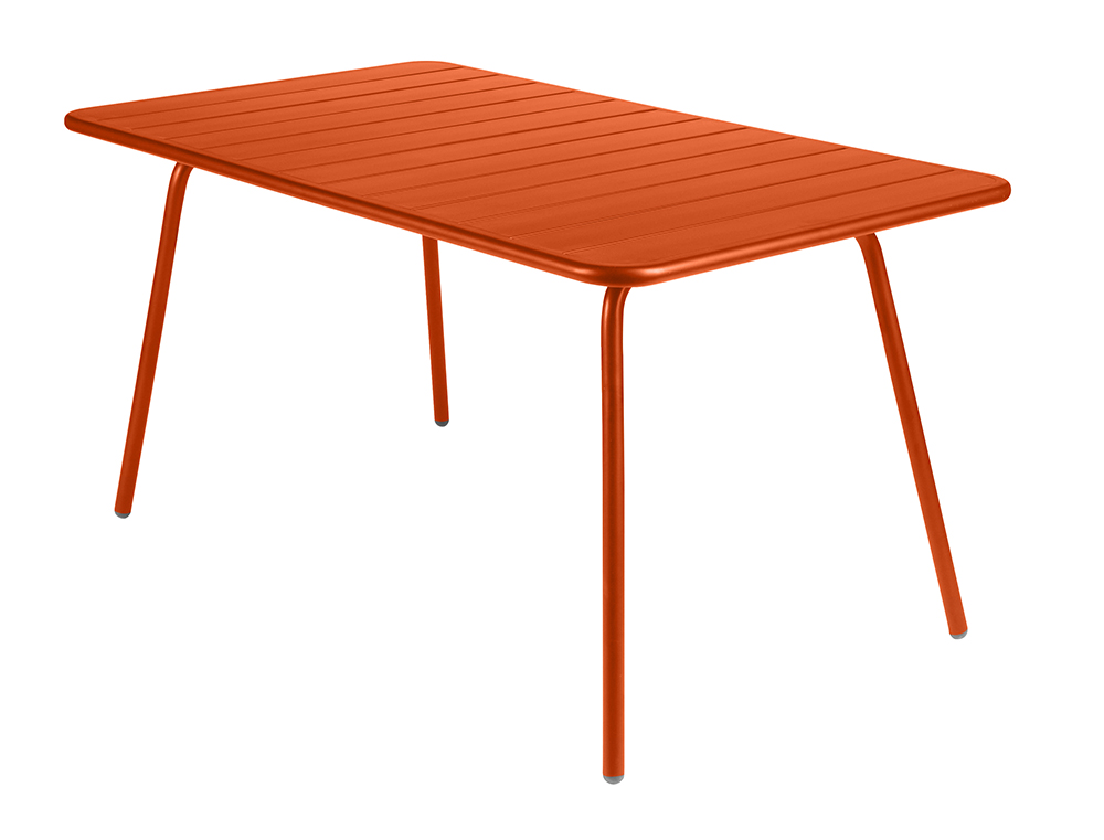 Luxembourg table 80 x 143 cm – Paprika