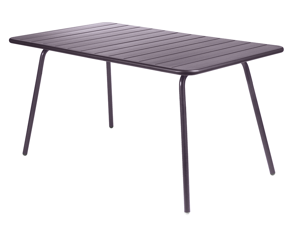 Luxembourg table 80 x 143 cm – Plum