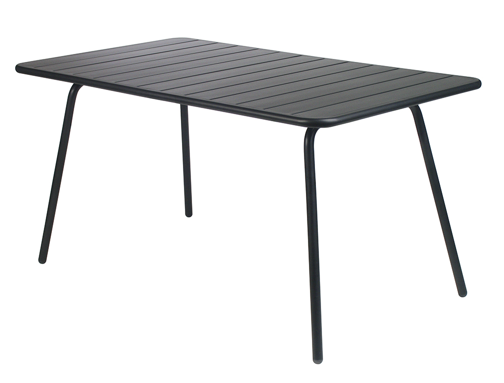 Luxembourg table 80 x 143 cm – Liquorice