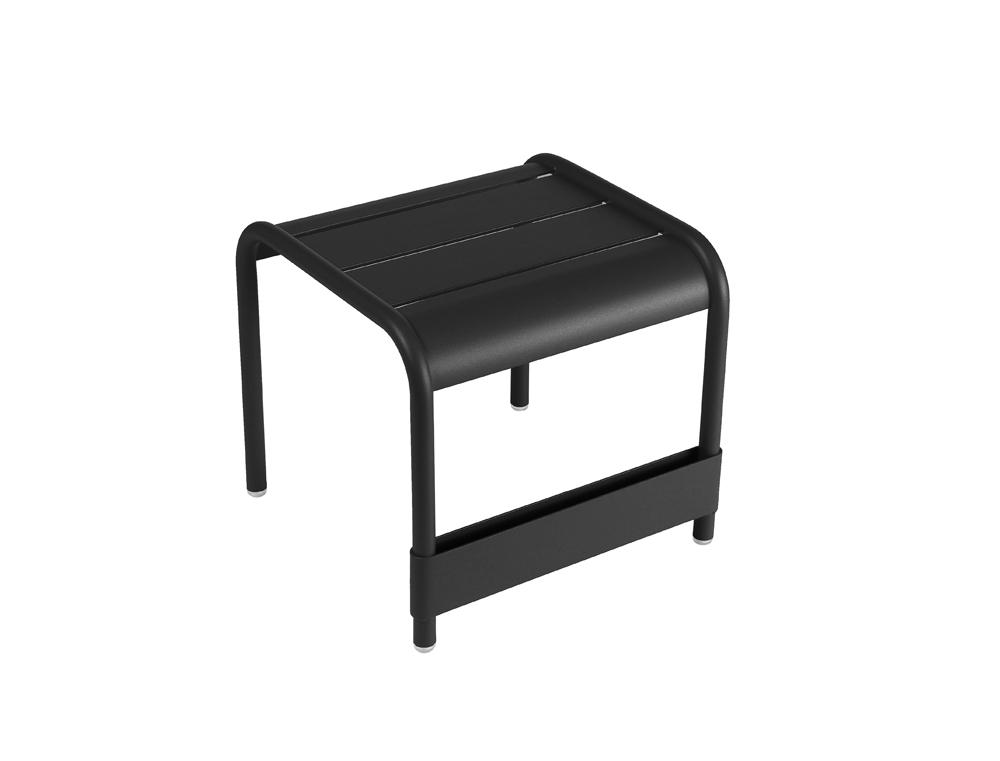 Luxembourg small low table/footrest – Liquorice