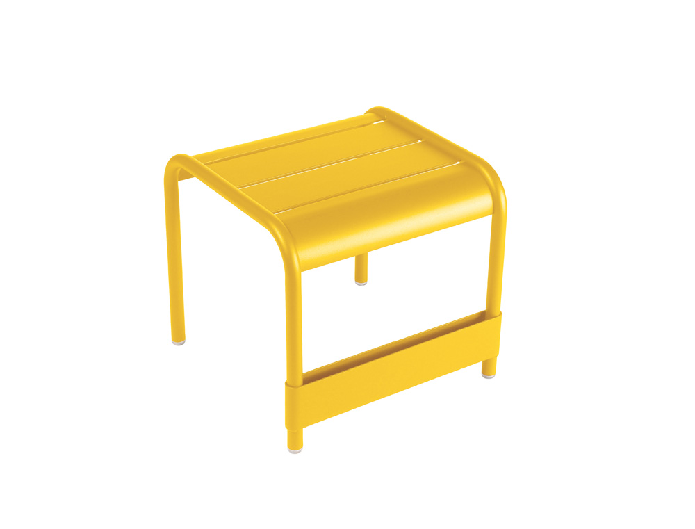 Luxembourg small low table/footrest – Honey