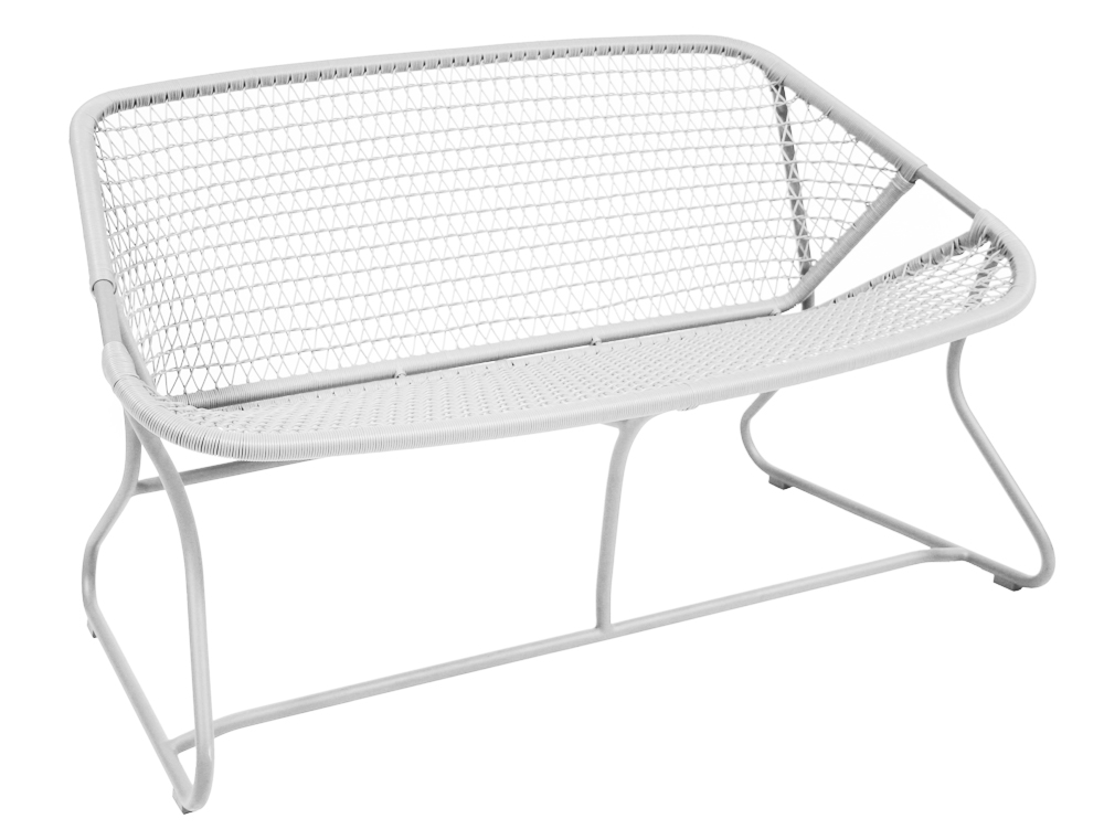 Sixties bench – Cotton White