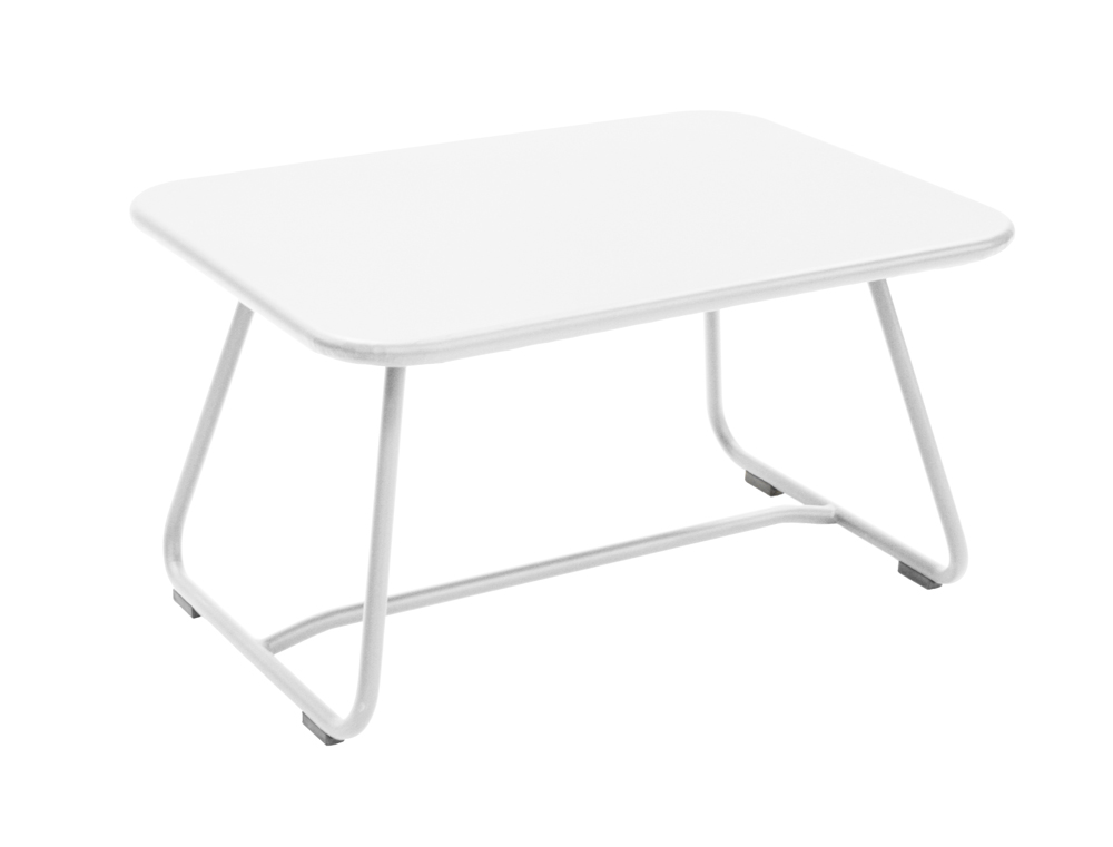 Sixties low table – Cotton White
