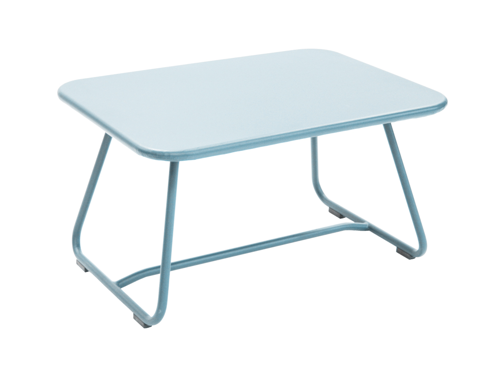 Sixties low table – Fjord Blue