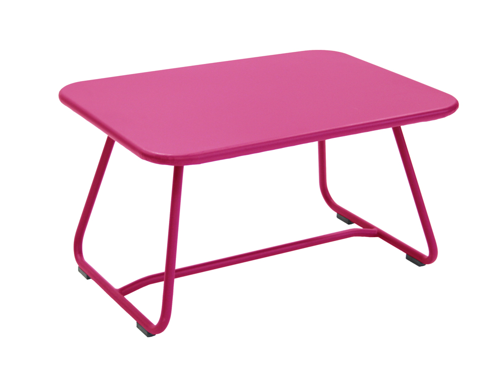 Sixties low table – Fuchsia