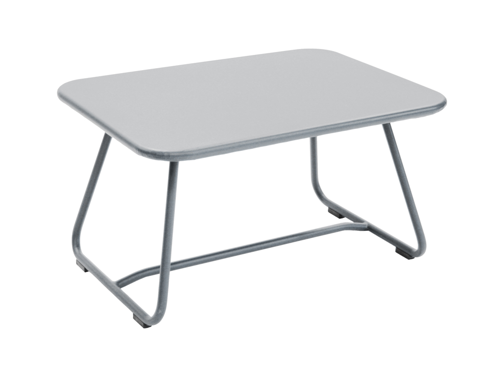 Sixties low table – Steel Grey