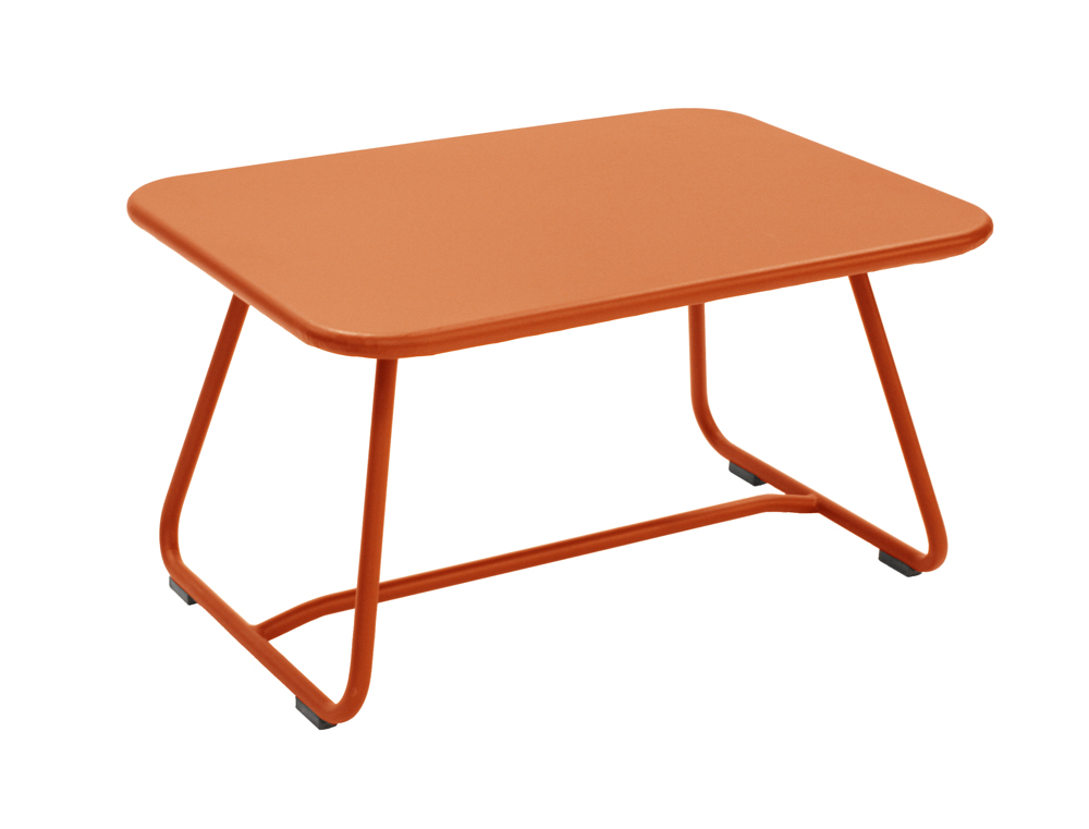 Sixties low table – Paprika