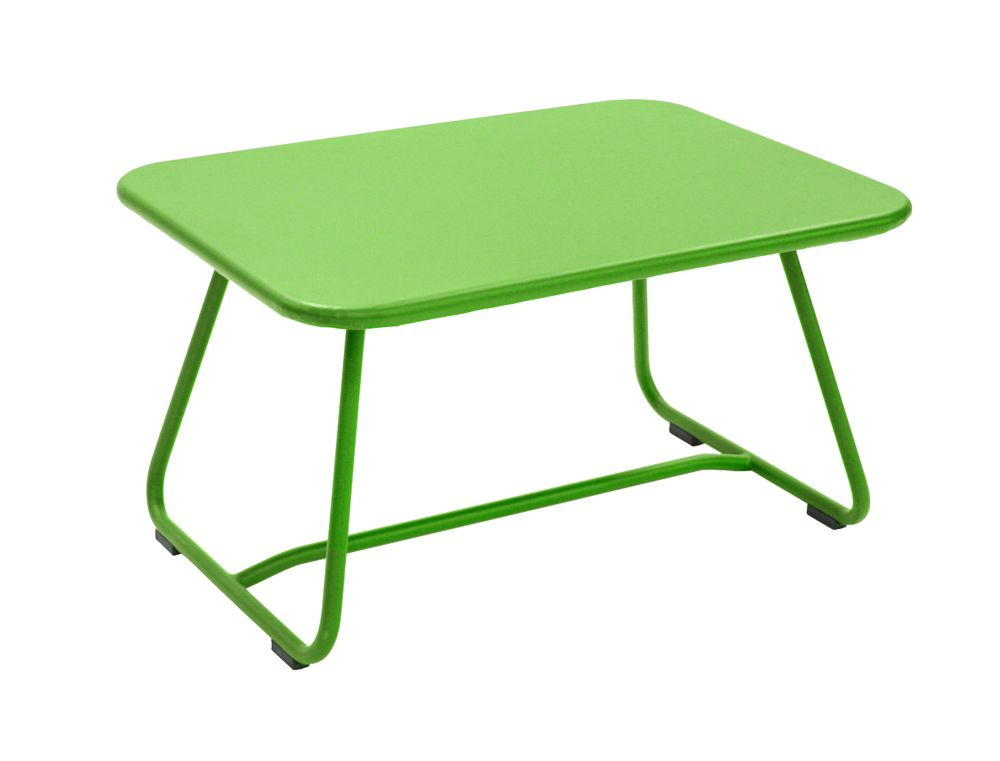 Sixties low table – Grass Green