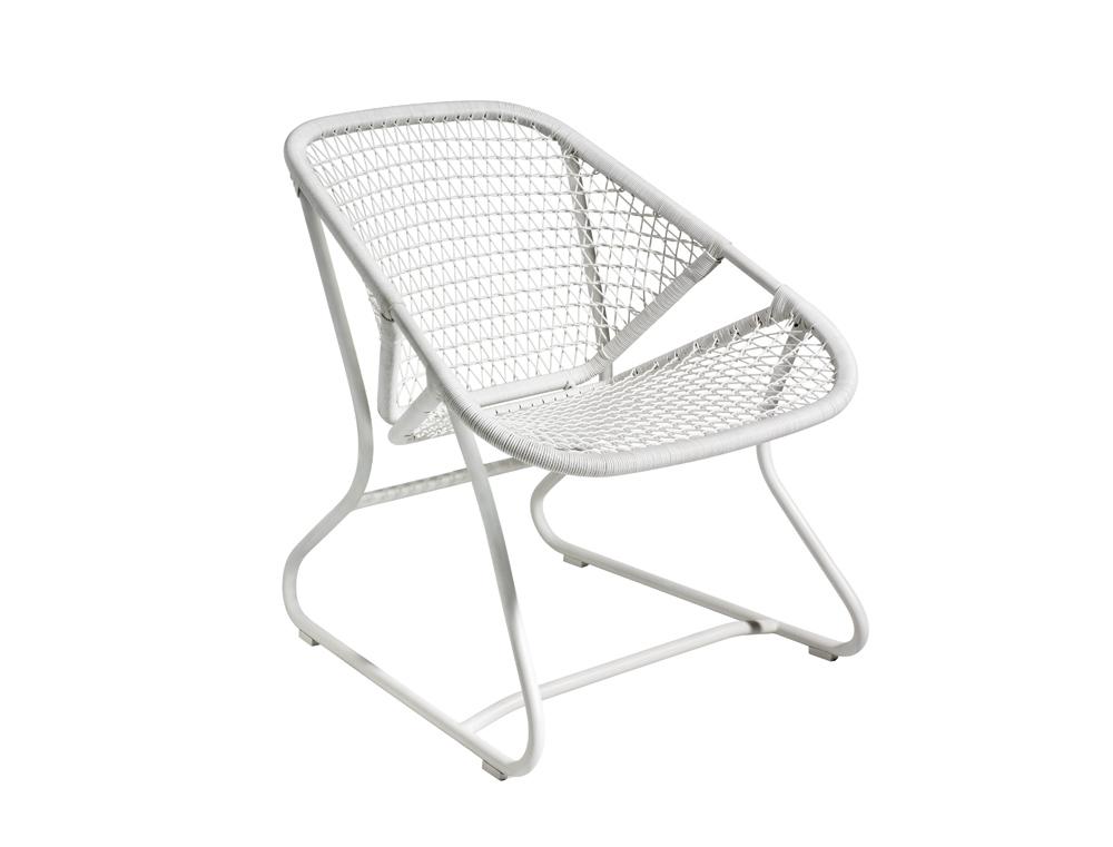 Sixties armchair – Cotton White