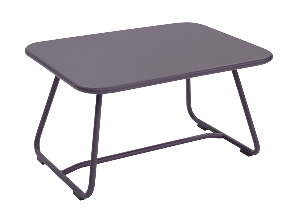 Sixties low table – Plum
