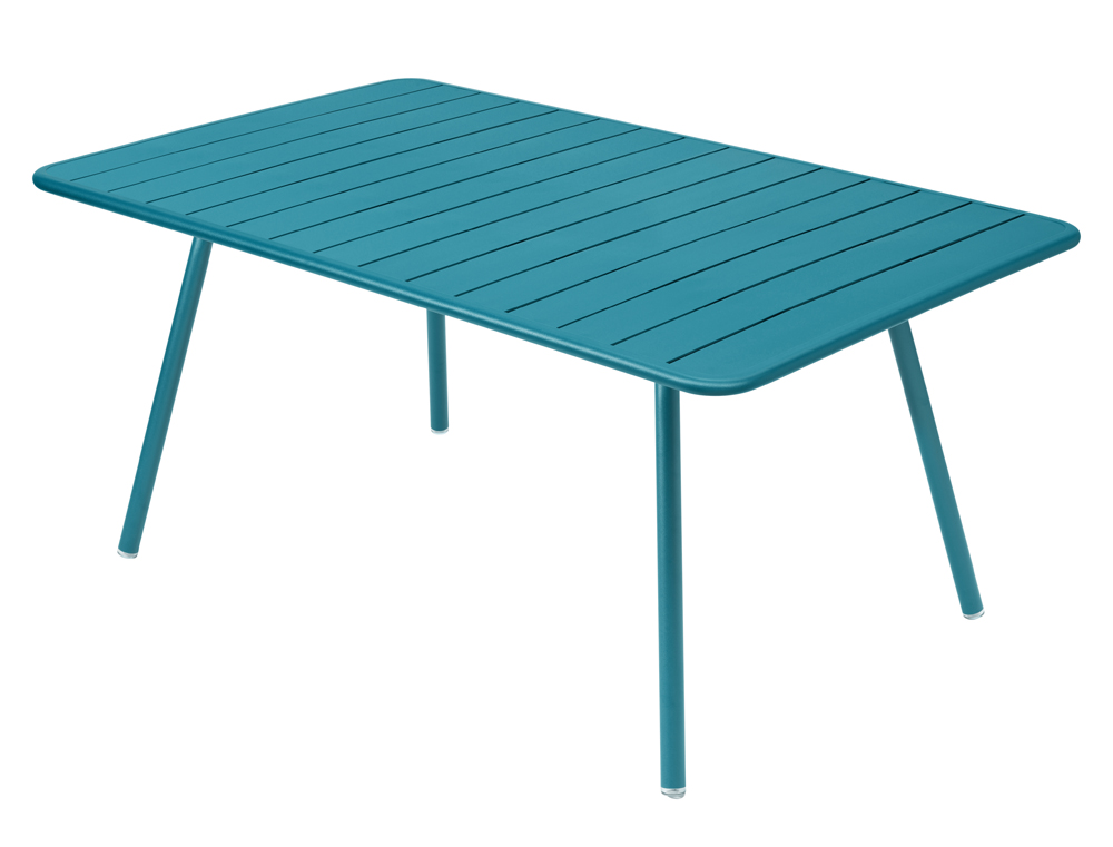 Luxembourg table 165 x 100 cm – Turquoise Blue