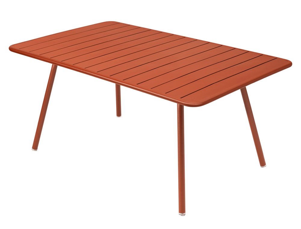 Luxembourg table 165 x 100 cm – Paprika