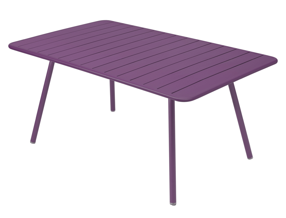 Luxembourg table 165 x 100 cm – Aubergine