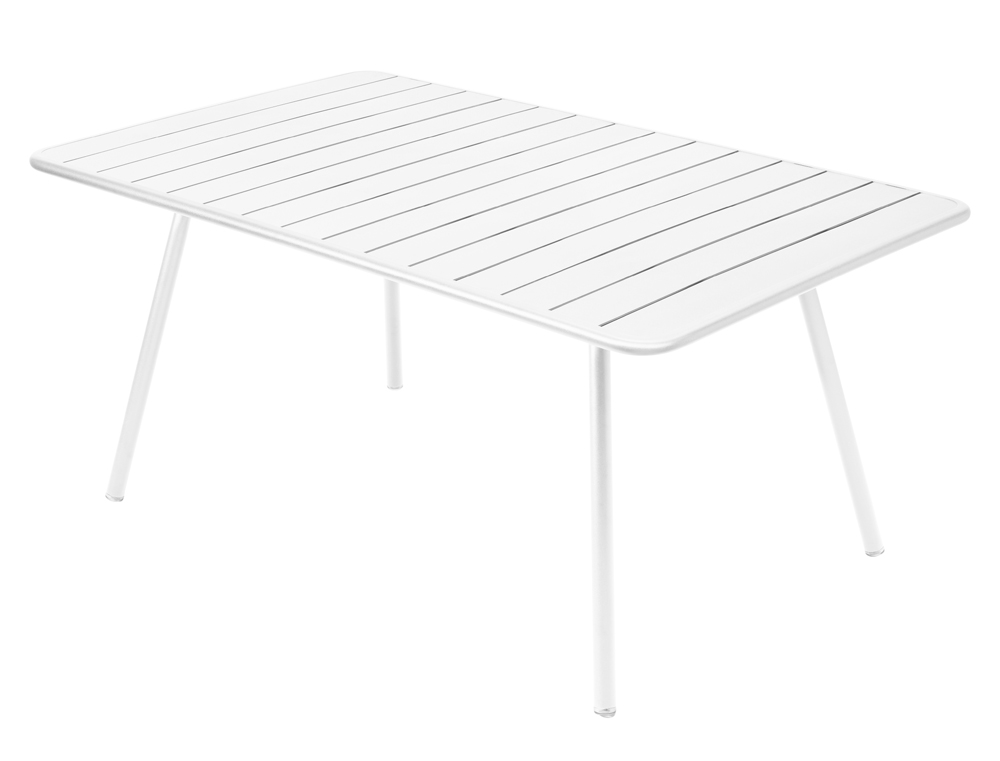 Luxembourg table 165 x 100 cm – Cotton White