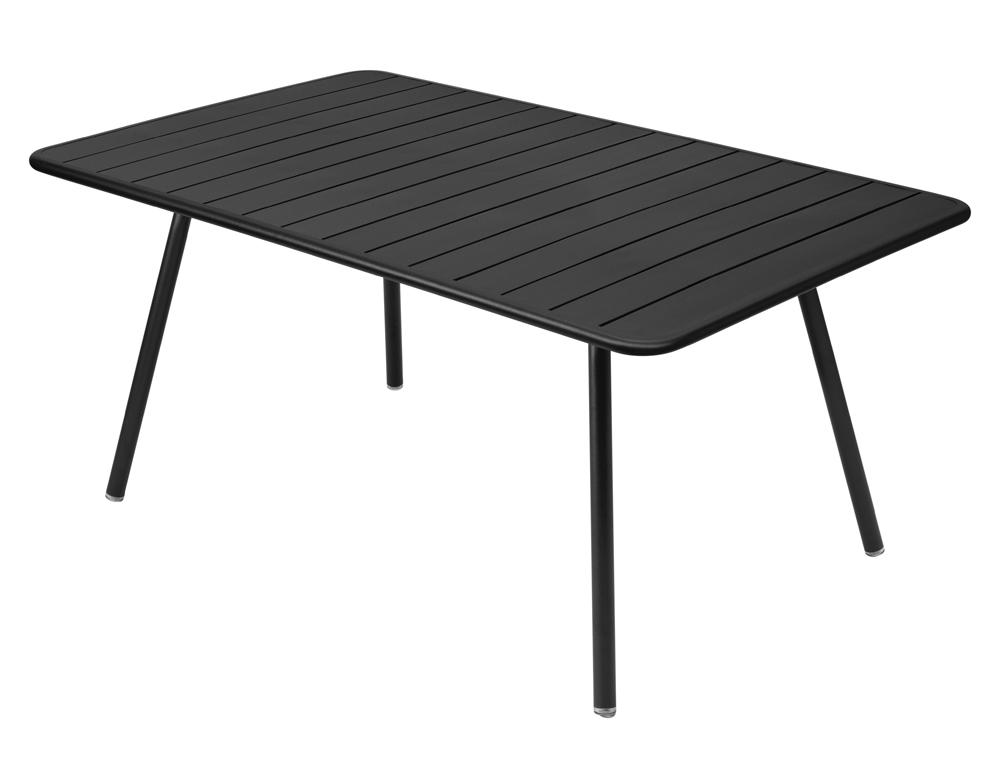 Luxembourg table 165 x 100 cm – Liquorice