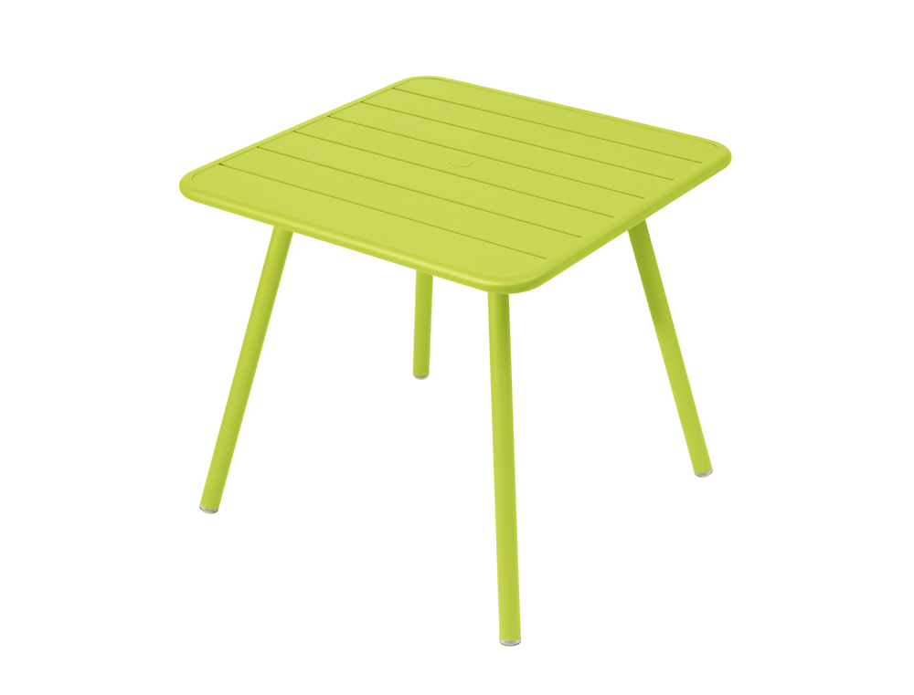 Luxembourg table 80 x 80 with 4 legs – Verbena