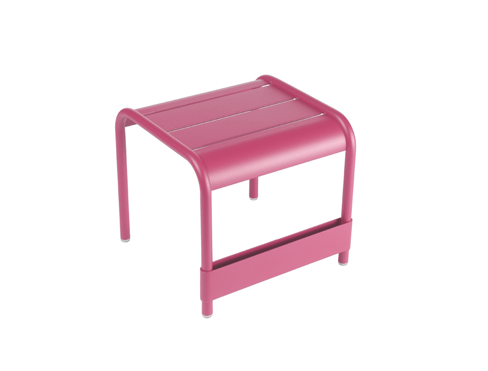 Luxembourg small low table/footrest – Fuchsia